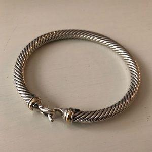 David Yurman buckle bracelet 5mm. Size small